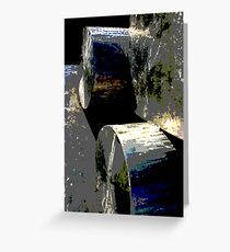 Heavy Metal Poster Greeting Card