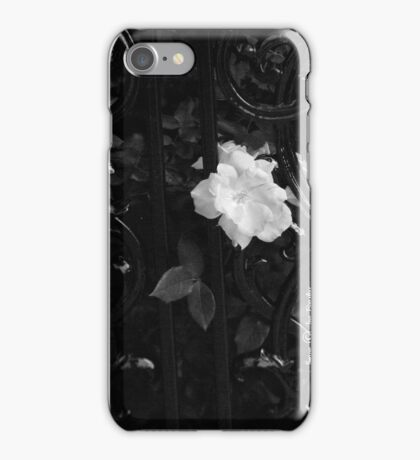 Étude en Noir iPhone Case/Skin