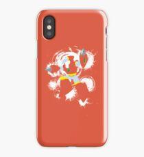 Crash Man Splattery T iPhone Case/Skin