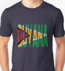 Guyana flag Unisex T-Shirt