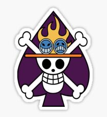 Portgas D. Ace's Jolly Roger Sticker
