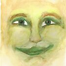 Green Man by weirdartist