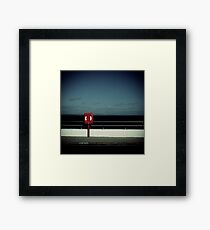 Lifebelt Framed Print