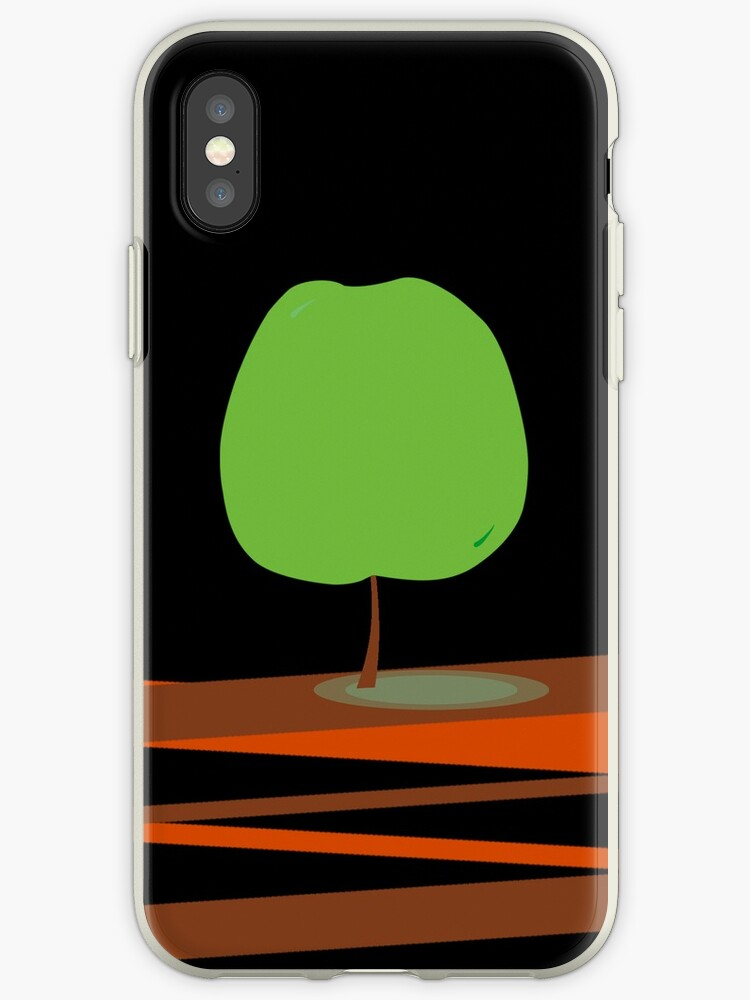 Green Apple Tree iPhone Case by Denis Marsili