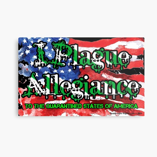 I Plague Allegiance Metal Print