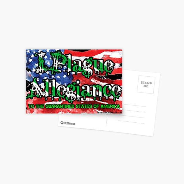 I Plague Allegiance Postcard