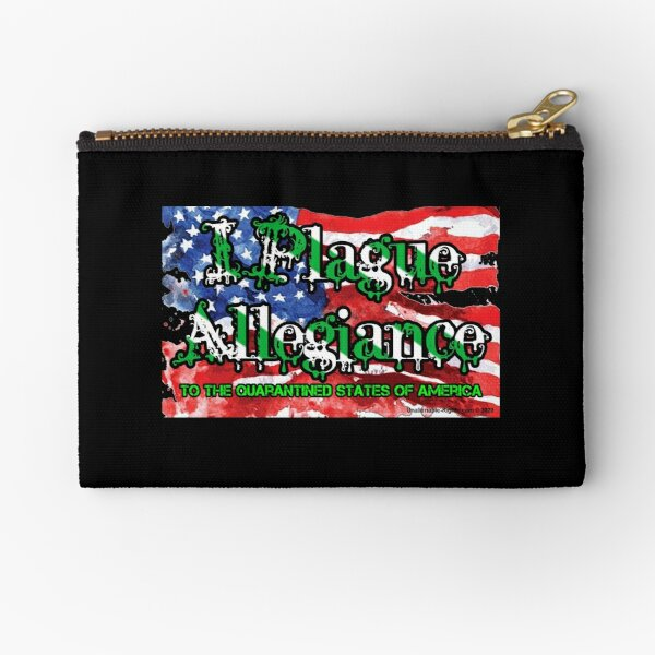 I Plague Allegiance Zipper Pouch