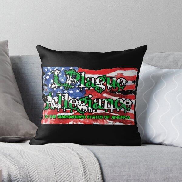 I Plague Allegiance Throw Pillow