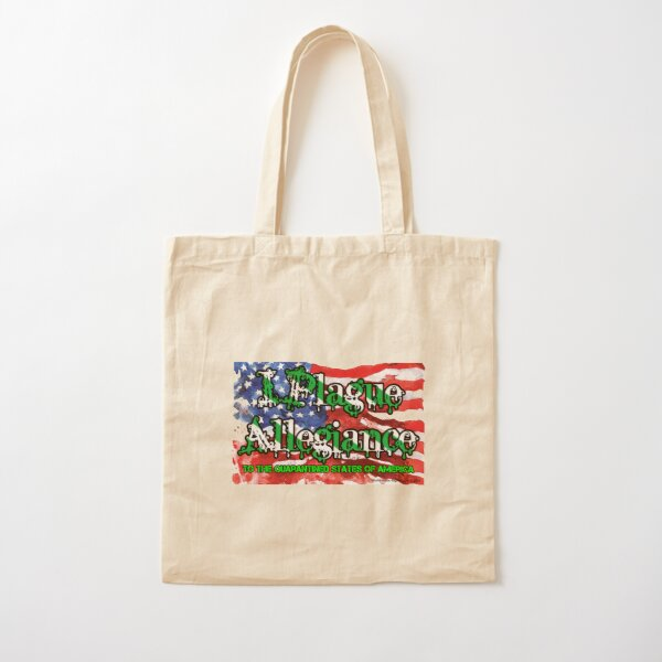 I Plague Allegiance Cotton Tote Bag