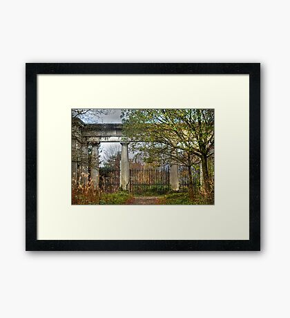 The Ruins of Stover Framed Print