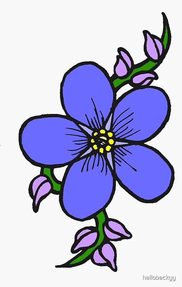 """forget me not tattoo (2010)"""" by hellobeckyy 