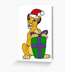 Simba Christmas 2011 Greeting Card