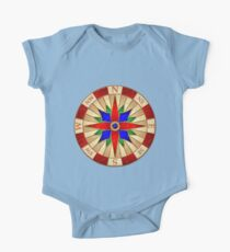 Compass Rose One Piece - Short Sleeve