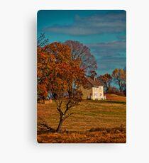 USA. Pennsylvania. Kennett Square. Colors of Fall. Canvas Print