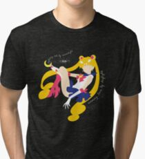 She's the one named Sailor Moon. Tri-blend T-Shirt