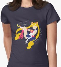 She's the one named Sailor Moon. Women's Fitted T-Shirt