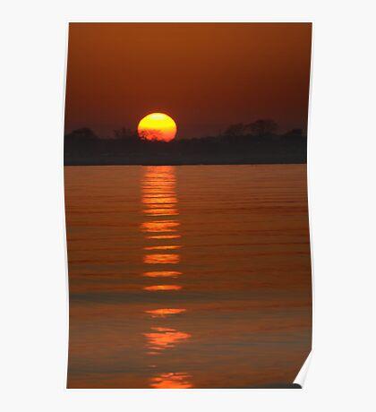 Trailing Sun Poster