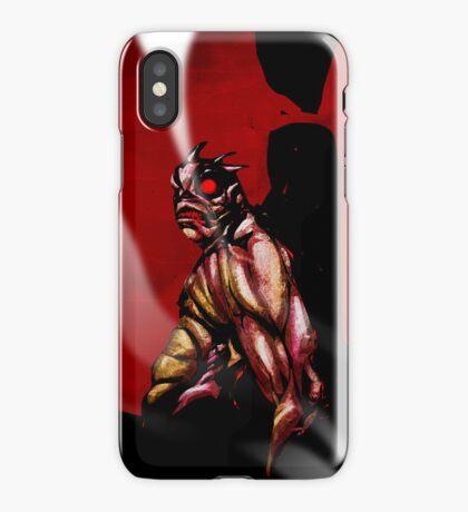 The Horror - Sentry Demon iPhone Case