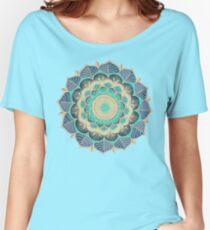 Camiseta ancha para mujer Floración de medianoche