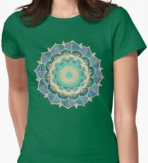 Midnight Bloom Women's Fitted T-Shirt