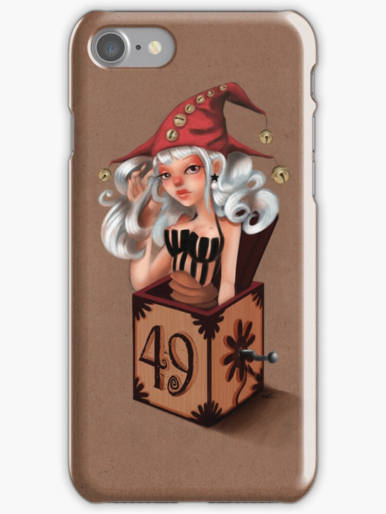 Girl 49   Girl in a box  by Erica Rosario