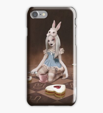 Rabbits Party iPhone Case/Skin