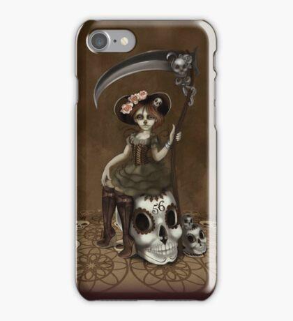 Girl 56 | Tarot Inspired Girl iPhone Case/Skin