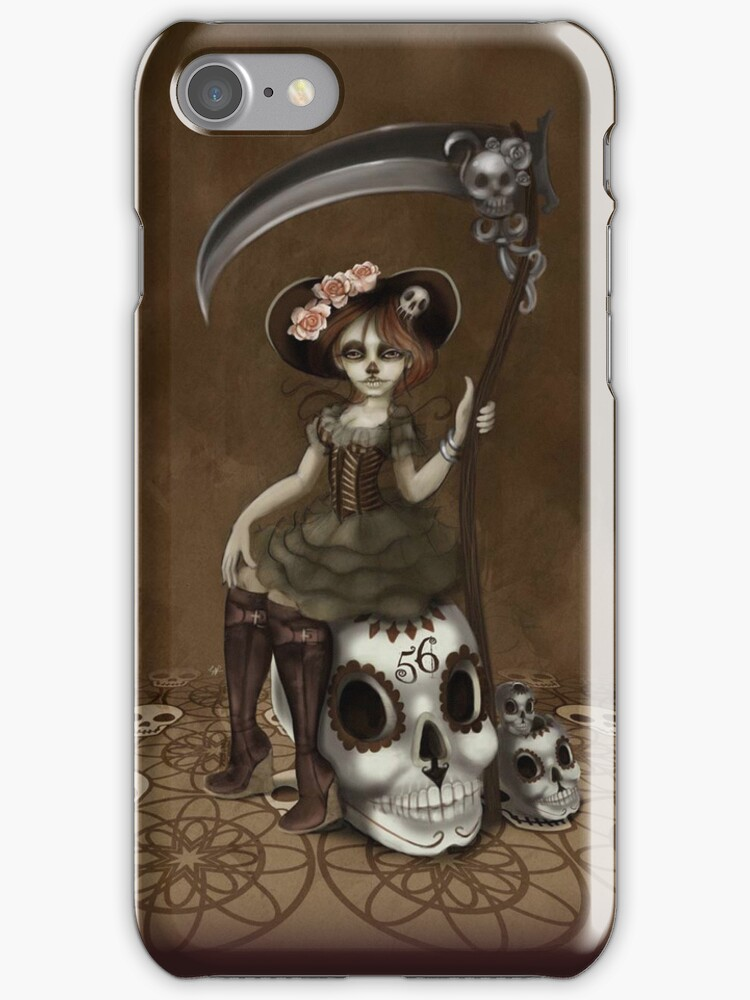Girl 56 | Tarot Inspired Girl by Erica Rosario