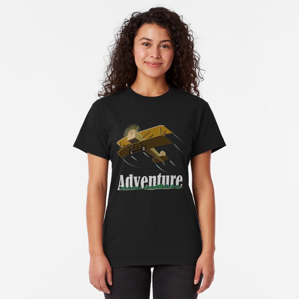 Biplane Island Adventure Classic T-Shirt