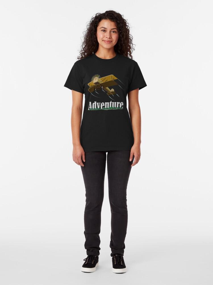 Alternate view of Biplane Island Adventure Classic T-Shirt