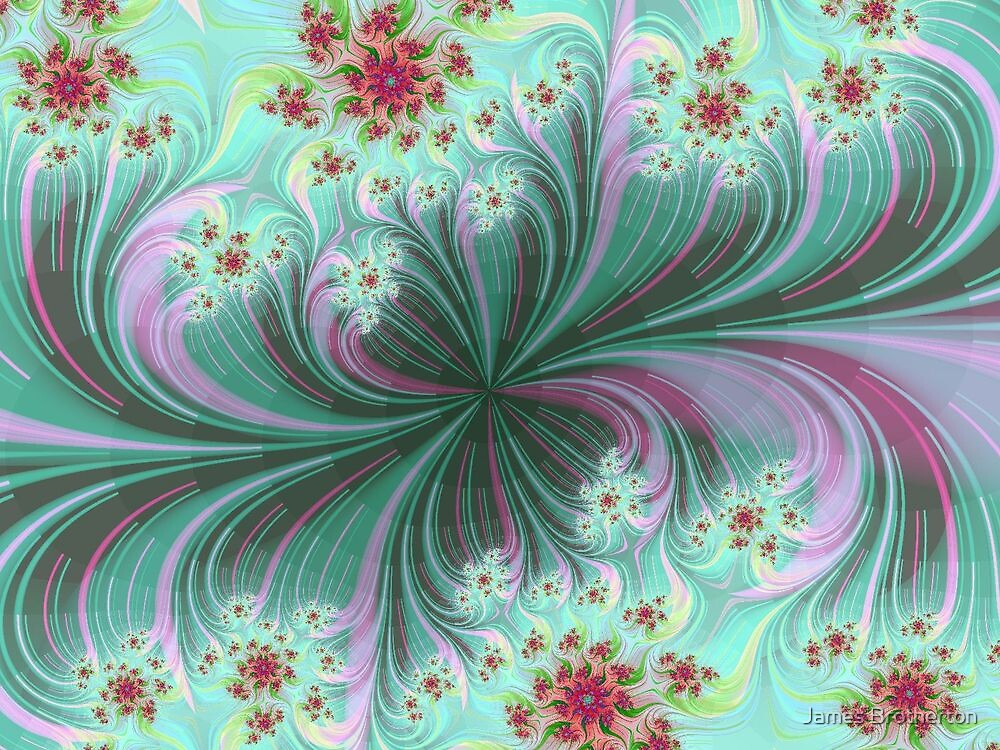 Flower Waves by James Brotherton