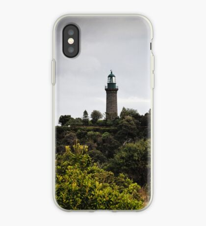 The Black Lighthouse iPhone Case