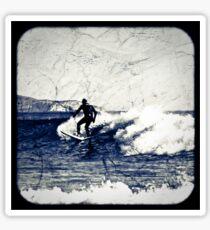 Surfer T shirt Sticker
