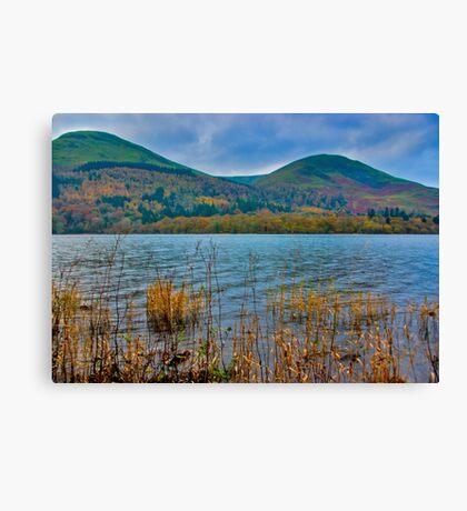 Autumn Colours at Buttermere Canvas Print