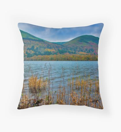 Autumn Colours at Buttermere Throw Pillow