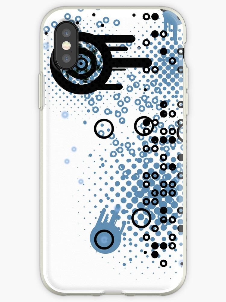 Cool Dotty Dots & Crazy Circles iPhone Case by Denis Marsili