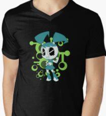 Teenage Robot Mens V-Neck T-Shirt
