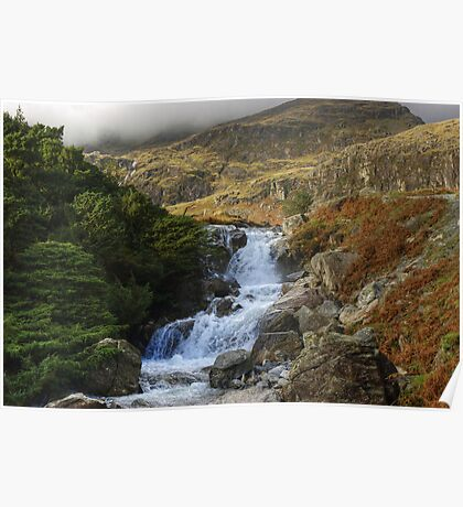 Coppermines Waterfalls....Levers Water Beck 2 Poster