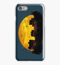Cool Sunset - City Skyline - Cute Birds iPhone Case iPhone Case/Skin