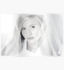 Lacey Caudill Innocence in B&W Poster