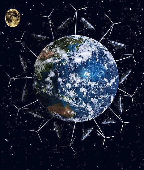 A Cleaner Earth (No more fossil fuels) by tapiona