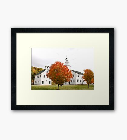 Washington New Hampshire Framed Print