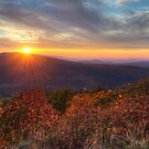 Oklahoma Mountain Sunset by Gregory Ballos
