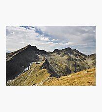 Transylvanian Alps Photographic Print