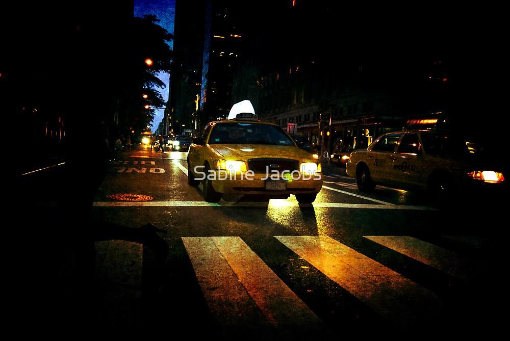 New York Night ~ New York City, USA by Sabine Jacobs