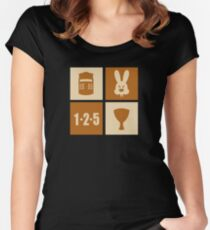 ICONIC GRAIL Women's Fitted Scoop T-Shirt