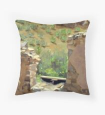 """""""View from the Saloon"""" Throw Pillow"""