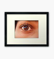Eye eye Framed Print