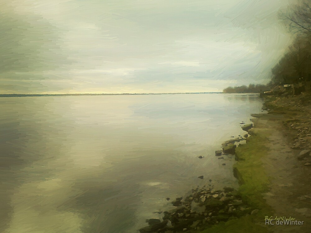 Sunset Before the Storm by RC deWinter