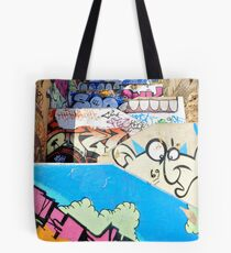 Stairway to graffiti heaven. Tote Bag